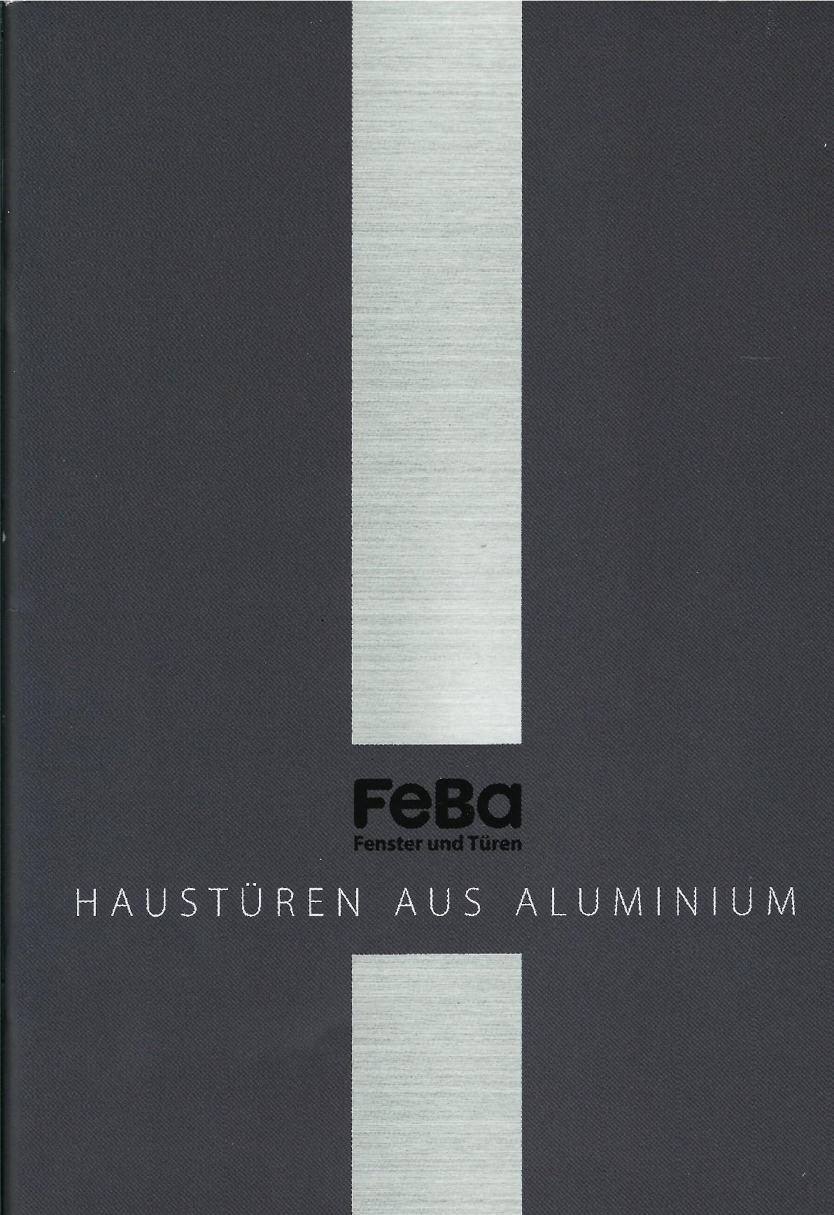 FeBa Haustüren aus Aluminium