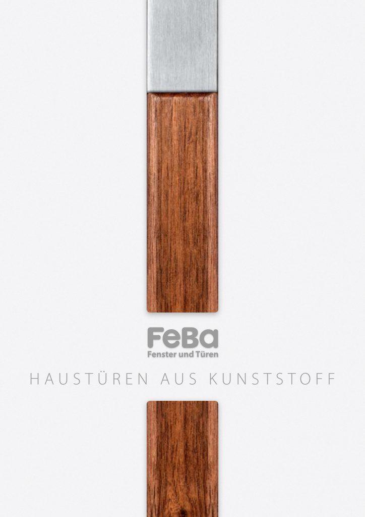 FeBa Haustüren aus Kunststoff Deckblatt