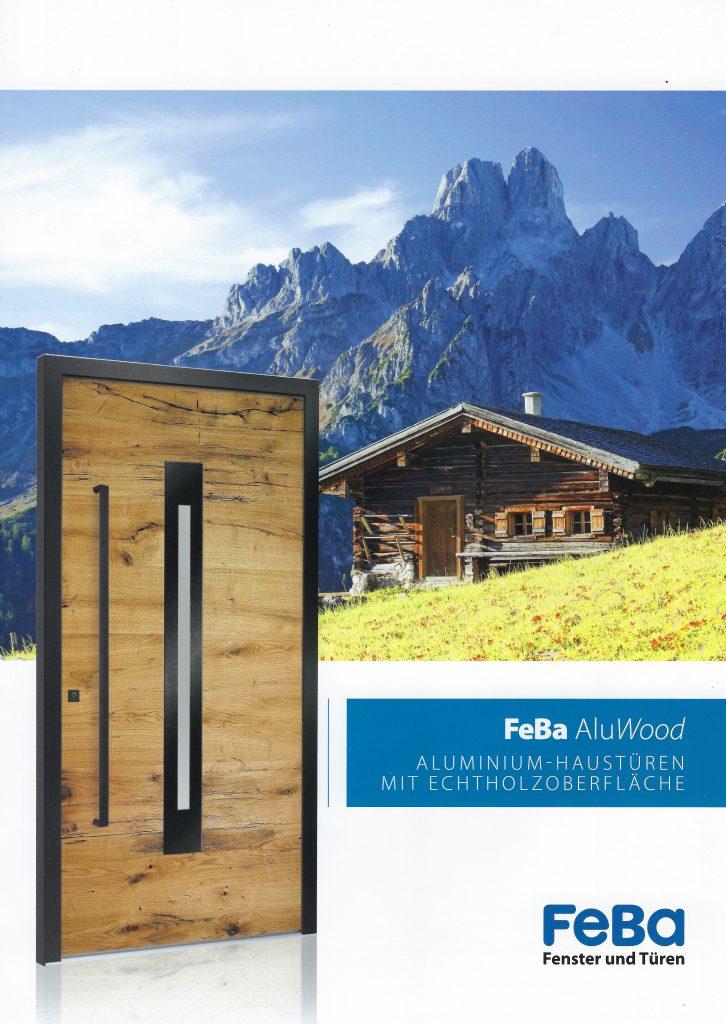 Feba Alu Wood Deckblatt