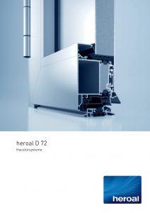 Heroal D72 Haustürsysteme
